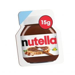 NUTELLA HAZELNUT AND CHOCOLATE SPREAD 15G PORTION PACK x 120