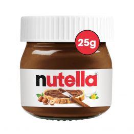 NUTELLA HAZELNUT AND CHOCOLATE SPREAD 25G MINI JAR x 64